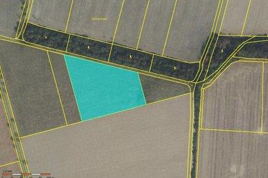 Prodej orné půdy, 7554m² - Paseka u Šternberka, Ev.č.: 01388