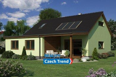 Prodej novostavby 4+kk s velkou zahradou v Lutíně, Ev.č.: 01416