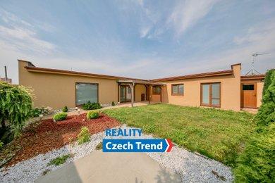 Prodej bezbariérového rodinného domu typu bungalov,  4+kk, 162m² - Olomouc - Hodolany, Ev.č.: 01460