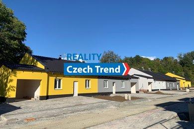 Prodej rodinného domu RD13, 3+kk, 107 m², se zahradou 371 m², Velký Týnec, Ev.č.: 01633