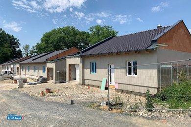 Prodej rodinného domu RD16, 3+kk, 107 m², se zahradou 403 m², Velký Týnec, Ev.č.: 01645