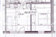 půdorys bytu- stavební