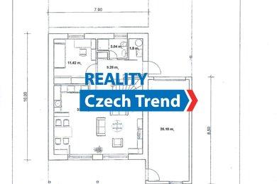 Prodej novostaveb rodinných domů, 5KK, 145m² - Olomouc - Nemilany A4, Ev.č.: 01760