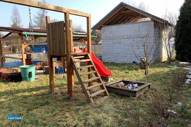 Prodej zahrady 600m² s rozestavěnou chatou 32m² - Lipník nad Bečvou, Ev.č.: 01773