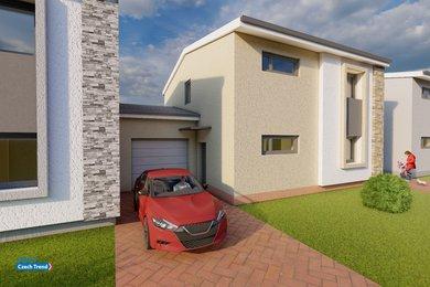 Prodej novostaveb rodinných domů, 5KK, 145m² - Olomouc -  Nemilany A3, Ev.č.: 01800