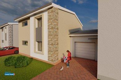 Předprodej  novostavby rodinného domů, 5KK, 145m² - Olomouc - Nemilany A 8, Ev.č.: 01858
