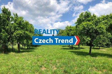 Prodej pozemku - zahrada, 800m² - Senička, Ev.č.: 01870