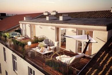 Prodej, Investiční nabídka bytů 344m² + 47,5m² terasy - Praha 1, Ev.č.: 00016