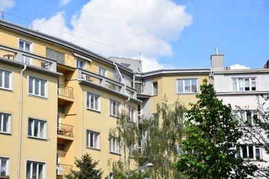 Byt 3+1 + 2 terasy Basilejské náměstí Praha 3