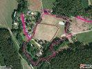 zákres orientační hranice pozemků