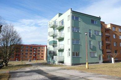 Prodej, komerční prostor- např. sídlo firmy, kancelář, obchodní prostory, nízké provozní náklady...., CP 74m² - Blansko, část -Sever, Ev.č.: 18010209