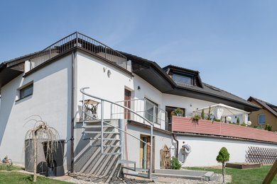 Prodej inteligentního nízkoenergetického nadstandardně provedeného domu na klidném místě s krásným výhledem, CP 677 m², Boskovice, ul. Na Chmelnici, Ev.č.: 20010327