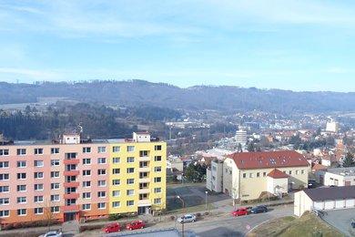 Pronájem novostavby bytu 2+kk s příjemným výhledem z balkonu a možností pronájmu garáže; CP 60m² , Blansko, ul. Nad Čertovkou, Ev.č.: 21010376