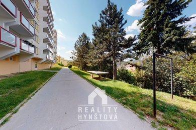 Pronájem bytu 2+1 se šatnou, prostornou lodžií a krásným výhledem; CP 59,2 m² + lodžie 5 m2; Blansko, Písečná, Ev.č.: 21010406