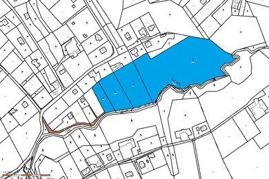 Prodej,pozemek o rozloze 23780 m² trvalý trávní porost + 249 m2 vodní plocha - Vratimov - Horní Datyně, Ev.č.: 00084