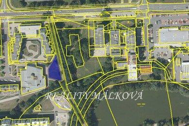 Prodej, Pozemky pro komerční výstavbu, 802m² - Pardubice - Polabiny, Ev.č.: 00263