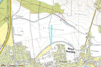 Prodej, Zemědělská půda, 5153m² - Staré Hradiště, Ev.č.: 00345