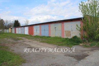 Prodej, Garáže, 19m² - Pardubice - Zelené Předměstí, Ev.č.: 00368