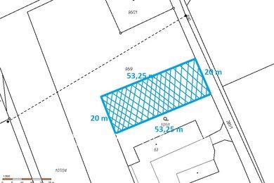 Prodej, Pozemky pro bydlení, 1065m² - Chrudim - Medlešice, Ev.č.: 00370