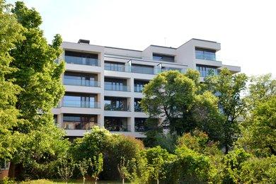 Prodej, luxusní střešní apartmán s velkou terasou  a nádherným výhledem na Špilberk, Černá Pole, 118m2, Ev.č.: 000671