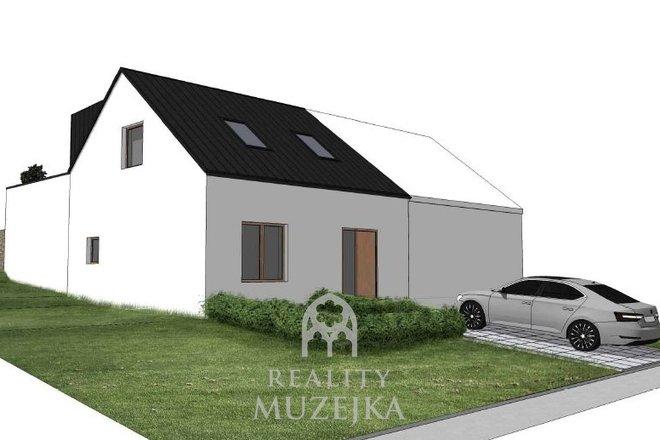Rodinný dům 4+kk s terasou a vinným sklepem Kuřim, Ev.č.: 000805