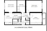3+1 Hornická 1520, Tišnov
