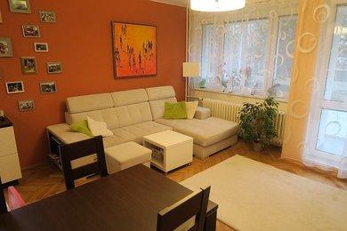 Pronájem kompletně zařízeného bytu 3+1 s lodžií a komorou Brno - Lesná, Ev.č.: 000868