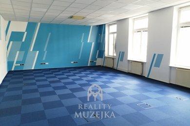 Pronájem kancelářského patra u Lužáneckého parku, Ev.č.: 000904