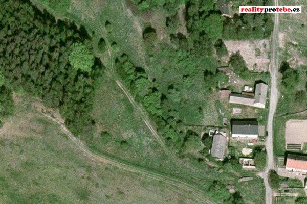 Prodej pozemku - trvalý travní porost, 827m², Nosálov - Libovice