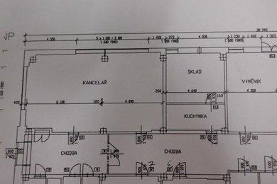 Pronájem, Kanceláře, 73 m² - Žďár nad Sázavou, Ev.č.: 00018