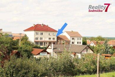 Byt 3+1 - 81,6 m2, cihlový, část. rekonstruovaný, s garáží | Prodej, Sedlec, Náměšť nad Oslavou, Ev.č.: 00241