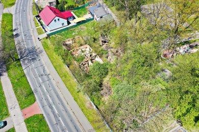 Prodej, Pozemky pro komerční výstavbu, 1 427m² - Ostrava - Zábřeh, ul. U Hrůbků, Ev.č.: 00140