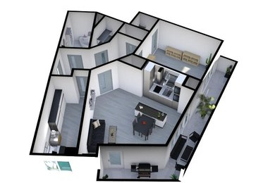 Prodej, Byt 3+kk, 85m² - Praha - Zličín, Ev.č.: 00091