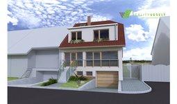 Prodej pozemku s projektem RD 4+kk, Vracov