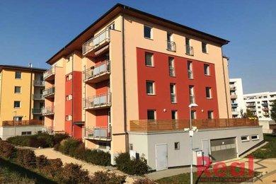 Pronájem bytu 2+kk s terasou a garážovým stáním, Šlapanice, Brněnská Pole