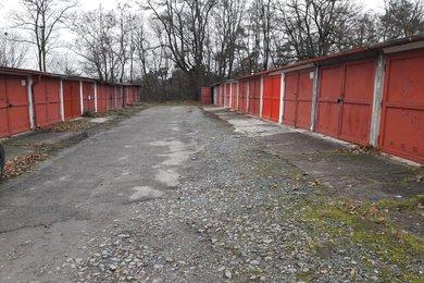 Prodej, garáže s č.ev. na vlastním pozemku, CP 18m2, ul. Okružní, Brno - Lesná, Ev.č.: 00175