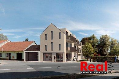 Prodej, byt 1+kk (2+kk), CP 45m2, ul. Moravanská, Brno - Přízřenice, Ev.č.: 00196