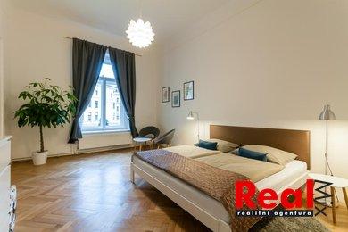 Pronájem exkluzivního bytu 3+kk s balkónovou terasou, CP 122m2, náměstí Svobody, Brno - střed, Ev.č.: 00216