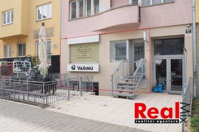 Pronájem, obchodní prostory, CP 36m2, ul. Kotlářská, Brno - střed, k.ú. Veveří, Ev.č.: 00227