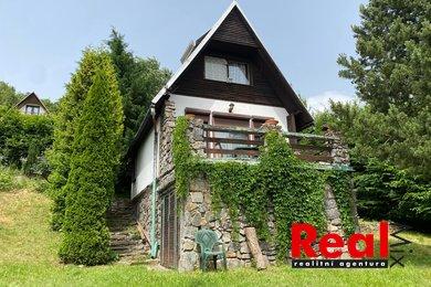 Prodej pěkné chaty se zahradou, CP 612m2, Synalov, Brno - venkov, Ev.č.: 00228