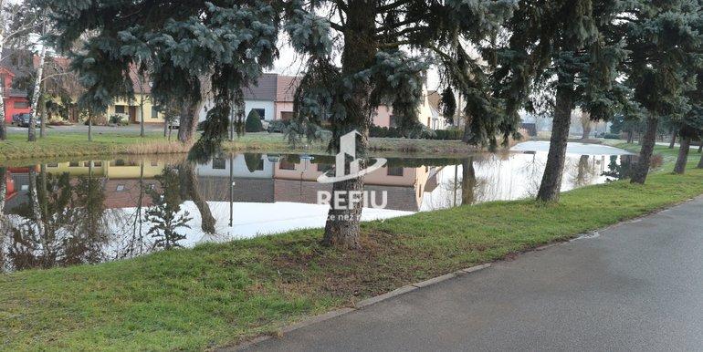 Rybník před domem
