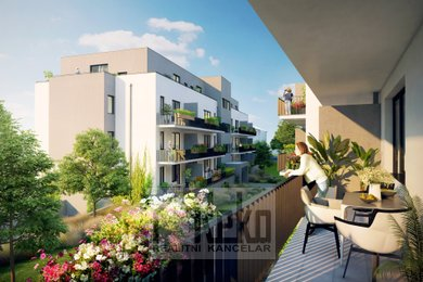 Prodej, Byty 2+kk, 55m² - Unhošť, Ev.č.: 01997