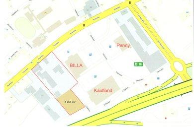 Pronájem, Pozemky pro komerční výstavbu, 3265m² - Beroun-Město, Ev.č.: 02033