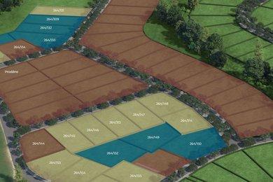 Prodej, Pozemky pro bydlení, 980m² - Vysoký Újezd, Ev.č.: 01602-9