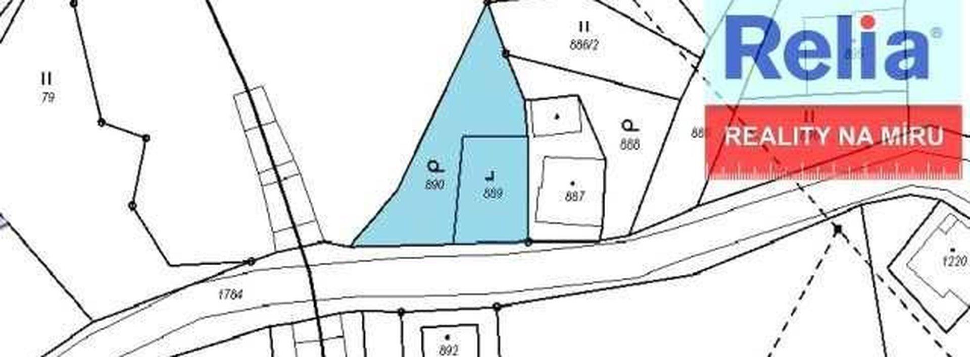 Slunný pozemek k výstavbě RD, 546m2, Smržovka, Ev.č.: N45909