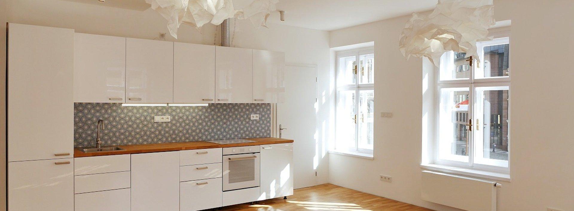 Pronájem nadstandardního bytu 3+kk, 73 m² s výhledem na radnici, Ev.č.: N49073