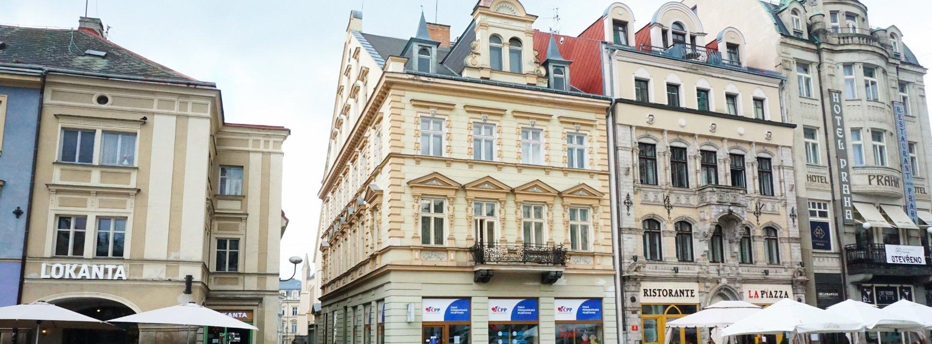 Pronájem kanceláře 50 m² náměstí Dr. E. Beneše, Ev.č.: N49076