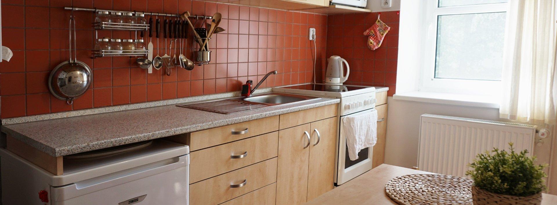Pronájem slunného bytu 1+1, 36 m² v centru města, Ev.č.: N49077