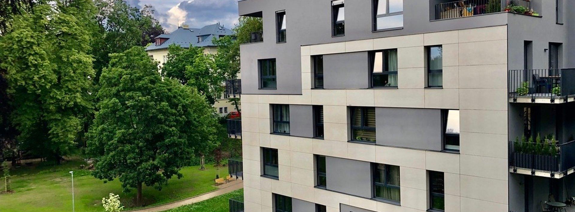 Pronájem bytu 2+kk s balkonem , 76 m² a gar. stáním - Liberec - Staré Město, ul. Vítězná, Ev.č.: N49082