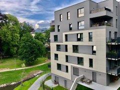 Pronájem bytu 2+kk s balkonem, 76 m² a gar. stáním - Liberec - Staré Město, ul. Vítězná